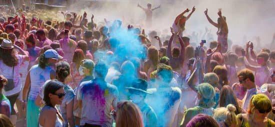 Holi festival glimpse